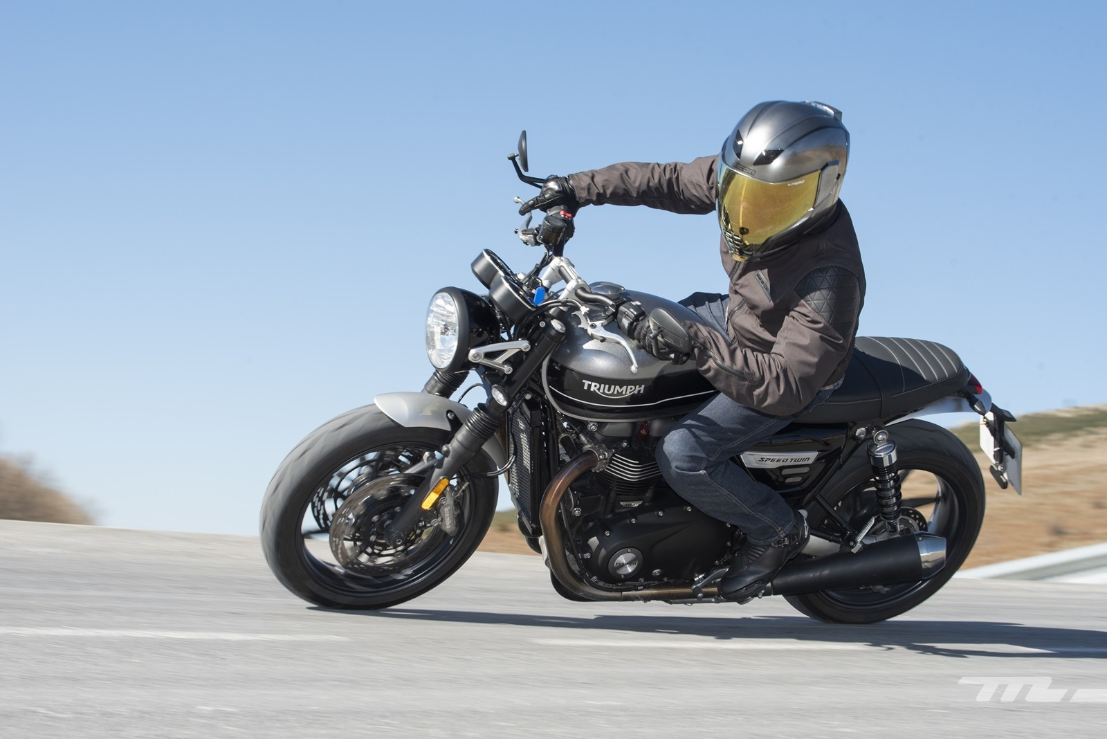 Foto de Triumph Speed Twin 2019, prueba (3/80)