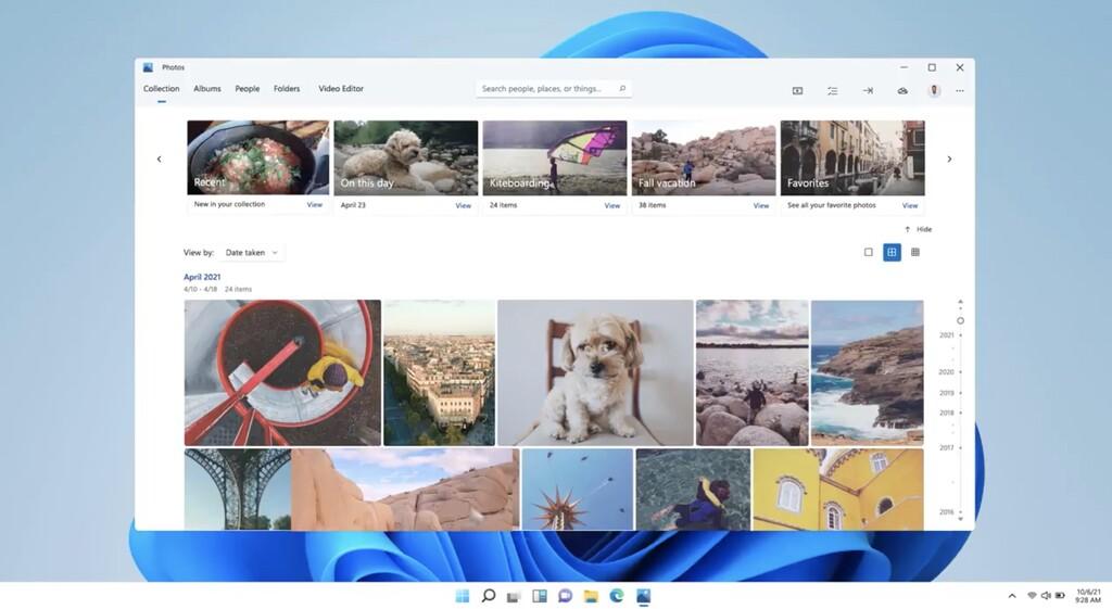 La nueva app Fotos para <strong>Windows℗</strong> aparece de la mano de Panos Panay con retoques en el diseño(layout) y una interfaz más amigable»>     </p> <p>Microsoft continua renovando el diseño(layout) de sus aplicaciones, en un curso acelerado con la llegada de <strong>Windows℗</strong> 11 y ahora le toca el turno a la app Fotos, una herramienta(tool) que ya viene instalada en los equipos y de la que <strong>Panos Panay ya ha dejado visualizar su nuevo diseño</strong>.</p> <p> <!-- BREAK 1 --> </p> <p>Fotos quiere ser la herramienta(tool) por defecto que los usuarios usen para entrar a su álbum fotográfico y por eso Microsoft℗ le ha dado un nuevo lavado de cara con una nueva interfaz, <a href=
