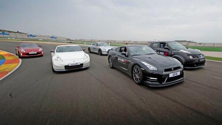 Gama deportiva Nissan, prueba en Circuito (parte 2) 370Z, 370Z Nismo y GT-R