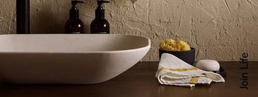 Las mejores rebajas de Zara Home para actualizar y llevar los materiales naturales al cuarto de baño