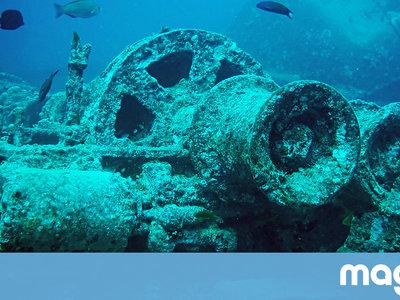Por qué están desapareciendo los barcos fantasma naufragados en la Segunda Guerra Mundial de Indonesia
