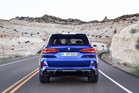 BMW X5 M Competition trasera