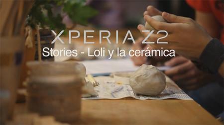 Sony Xperia Z2 Stories: Loli y la cerámica