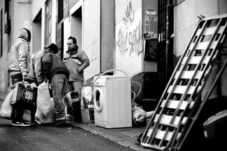 Víctimas de los desahucios, del fotógrafo Olmo Calvo