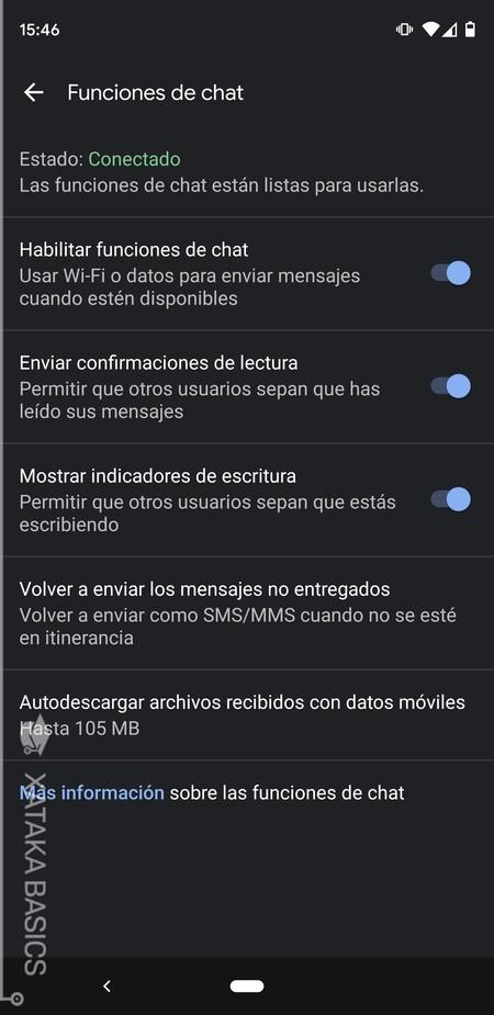 Funciones De Chat