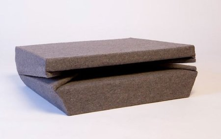 Oyster, mini sofá plegable y muy calentito