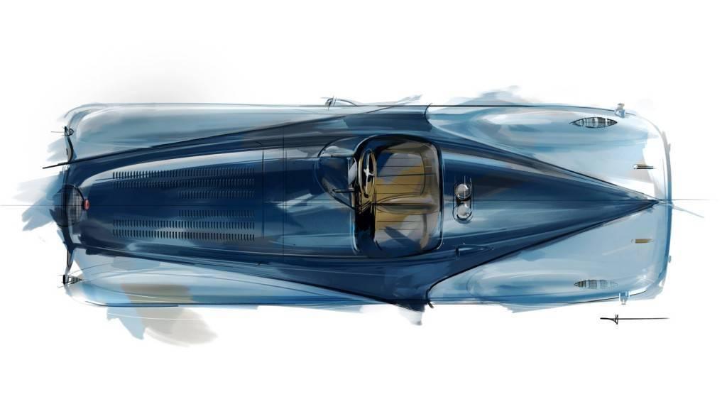 Foto de Bugatti Veyron Legend Jean-Pierre Wimille (6/10)