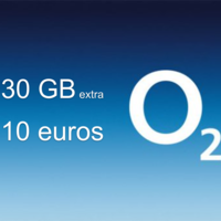 O2 estrena bono extra de 30 GB por 10 euros