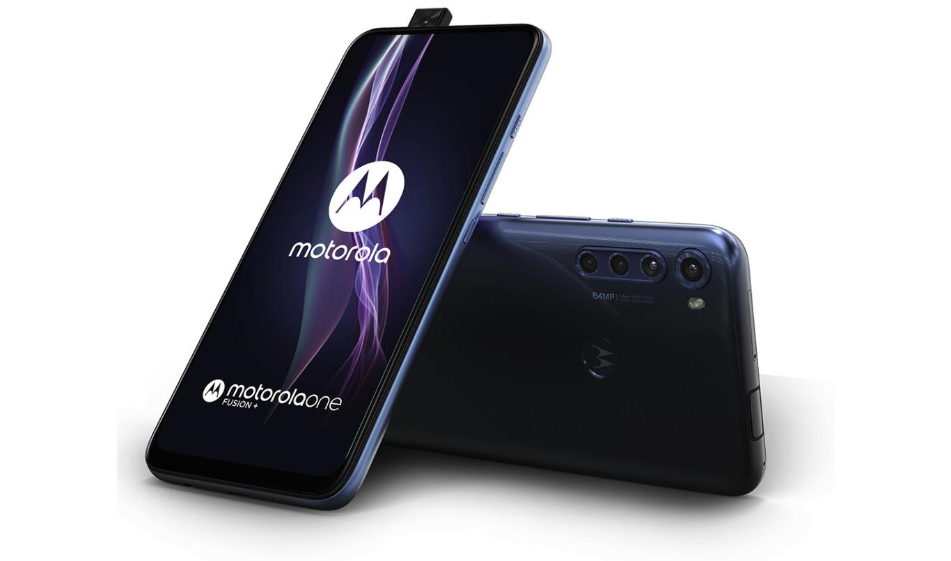 Motorola One Fusion+ - 6 GB + 128 GB - Azul