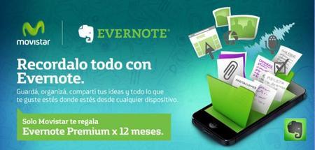 Evernote Premium por un año gracias a Movistar
