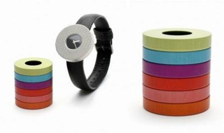 Vignelli Watch, con esferas intercambiables