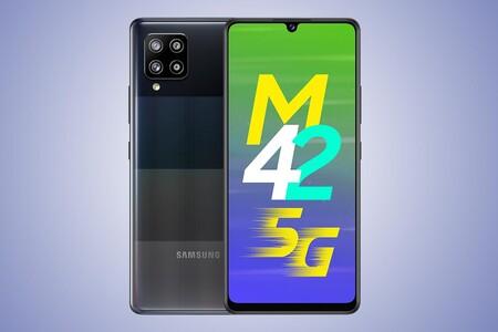 Samsung Galaxy M42 5G: el primer Galaxy M con 5G presume de gran batería y pantalla AMOLED