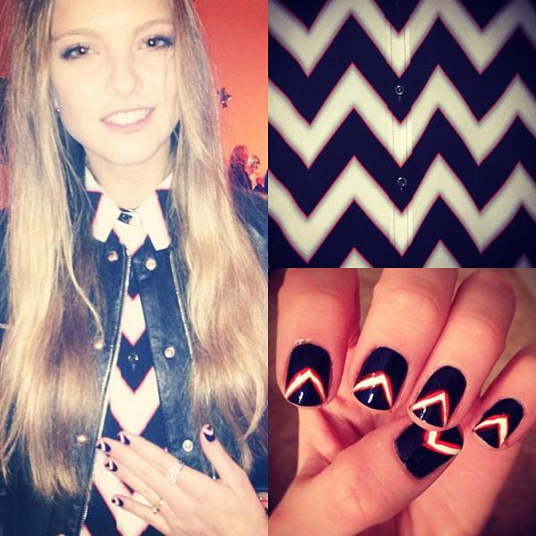 Laura Hayden nail art