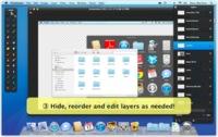 Screenshot PSD, crea capturas de pantallas por capas