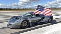 El Hennessey Venom GT alcanza 435 km/h en una pista de la NASA