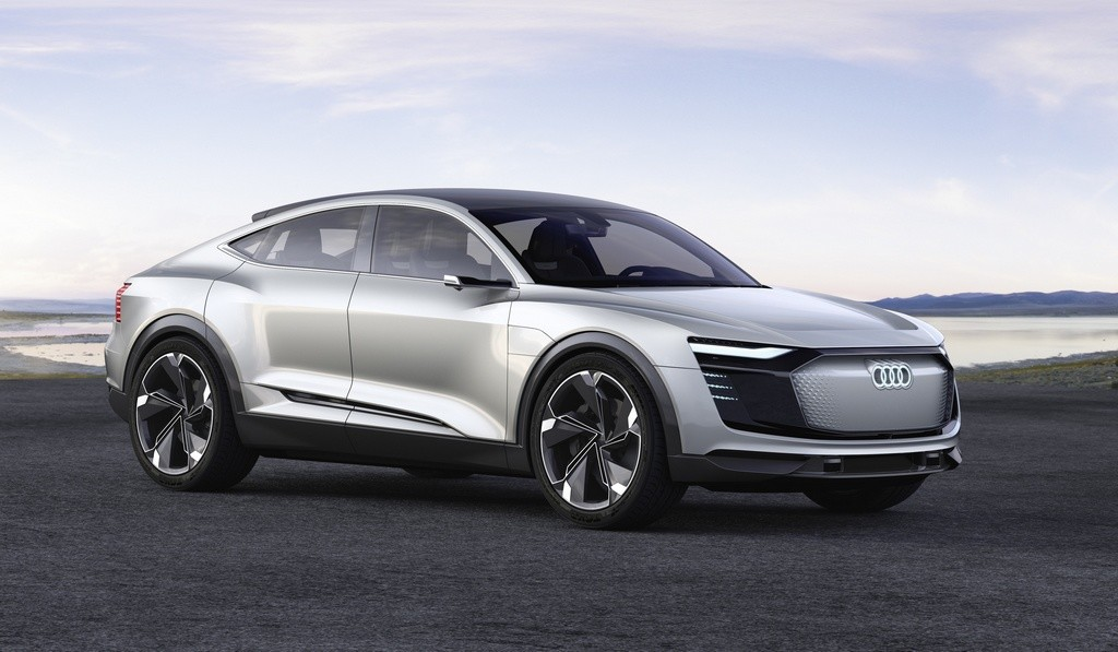 El Audi e-tron Sportback es el segundo golpe 100% eléctrico de Audi y está previsto para 2019