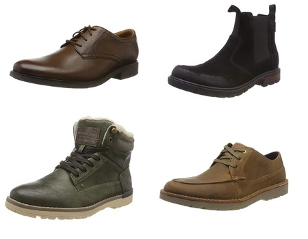 Chollos en tallas sueltas de botas y zapatos Clarks, Mustang o Caterpillar por menos de 30 euros en Amazon