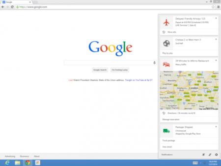 Google Now ya disponible en su versión de escritorio en Chrome