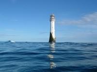 El faro en el mar más antiguo del mundo