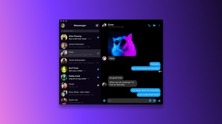 Facebook Messenger App Windows 10 Macos Videollamadas Chats Grupales