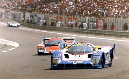 Nissan y su salvaje pole position en las 24 horas de Le Mans de 1990