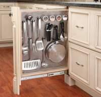 Guardar tus utensilios de cocina en poco espacio