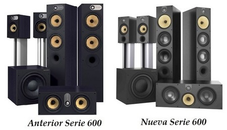 Bowers & ilkins Series 600 comparativa