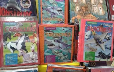 Libros-aventura con manualidades y juegos