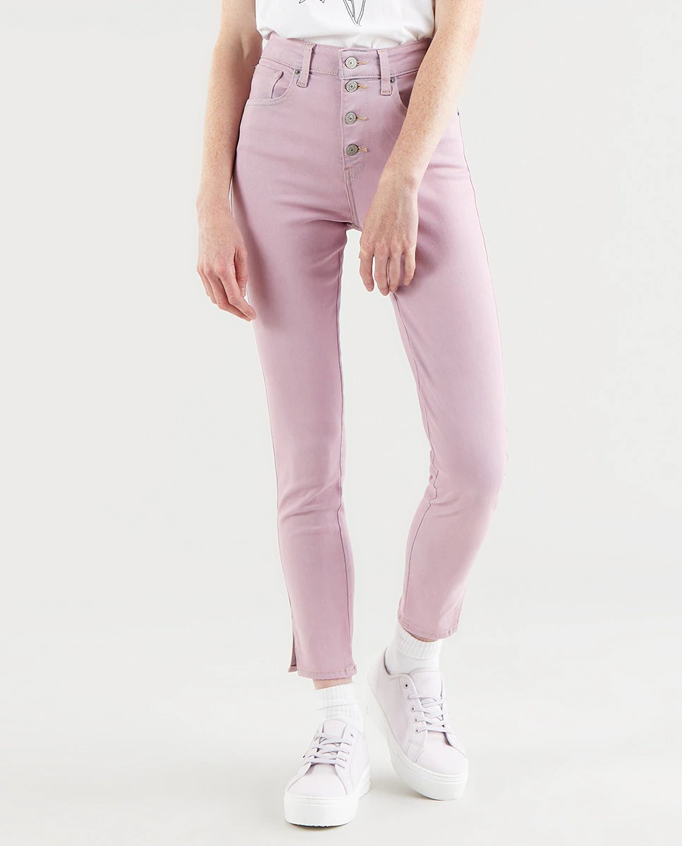 Levi's 721 de talle alto estilo Ankle en rosa