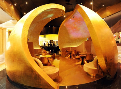 El espacio multisensorial Bubble Bar de Moët & Chandon