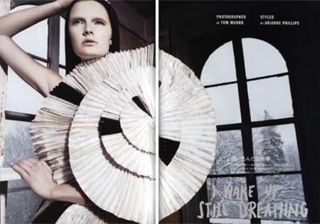 Arquitectura y estilo en la edición japonesa de Vogue