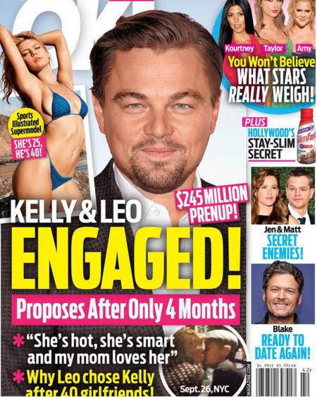 ¿A Leonardo Dicaprio lo casaremos algún día o no?