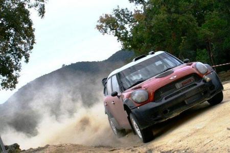 Mini realiza los últimos retoques al Countryman WRC