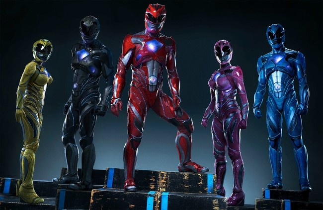 Power Rangers de 2017