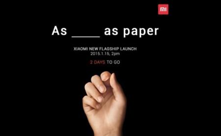 Quedan dos días, sólo dos, para conocer lo nuevo de Xiaomi