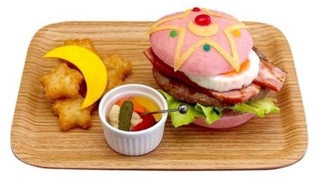 Abre en Tokyo el restaurante de Sailormoon... donde puedes comer hamburguesas rosas