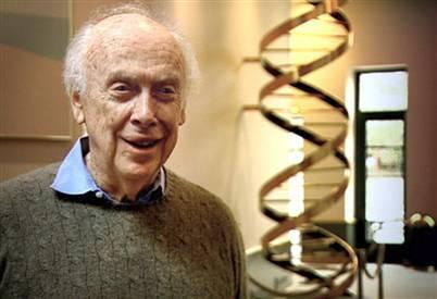 James Watson ya tiene su ADN en casa