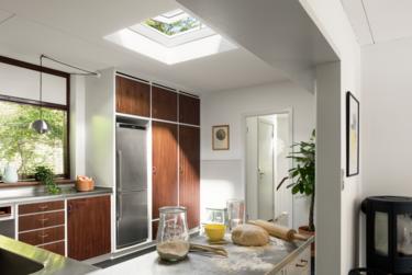 Vidrio curvado, lo nuevo de VELUX para ventanas de cubierta plana
