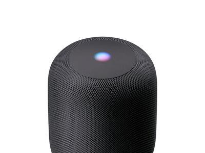 El cable del alimentación del HomePod esta integrado y sólo Apple puede reemplazarlo si se estropea