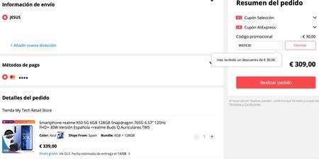 Realme X50 5g Con Auriculares De Regalo