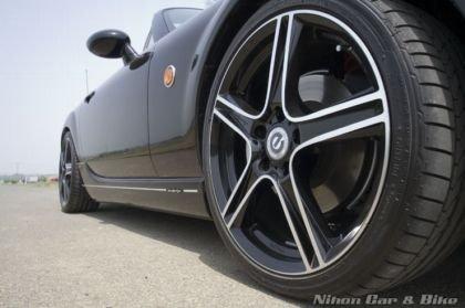 Mazda MX-5 Roadster Black x Metal