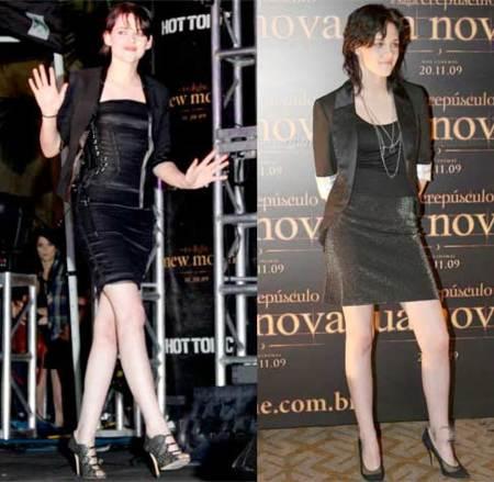 Kristen Stewart en  las premieres de New Moon