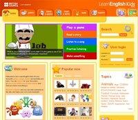 Learn English Kids, un sitio en inglés de calidad para los niños