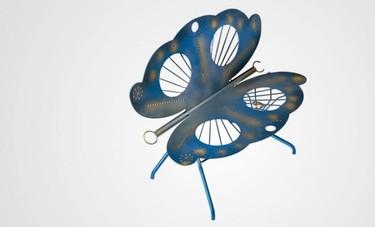 El banco mariposa