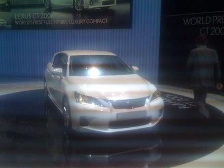 Presentación en Ginebra Lexus CT-200h 2