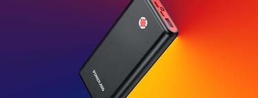 20K mAh a precio de escándalo: recarga tu iPhone varias veces con esta gran y potente batería externa por 16,99 euros