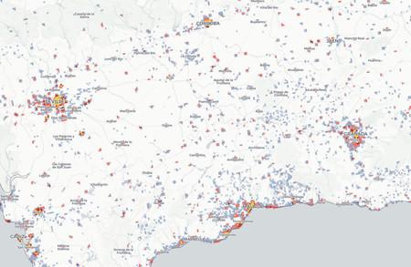 Mapa Demografico Andalucia