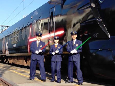 Con este tren de Star Wars, Japón se está ganando las mejores exclusivas de la saga