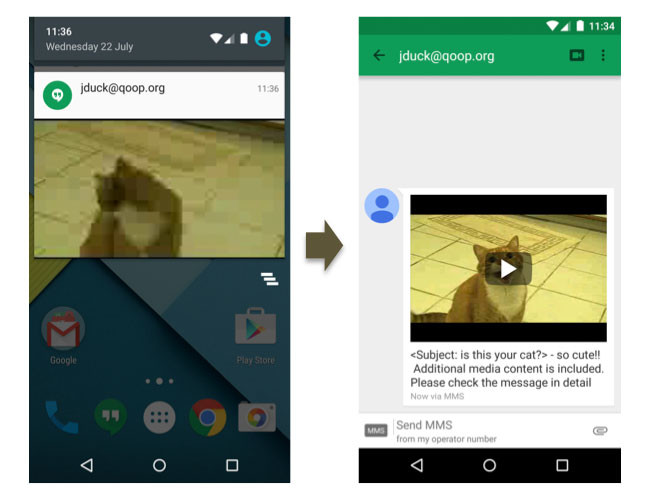 Android Video Mms Vulnerability2