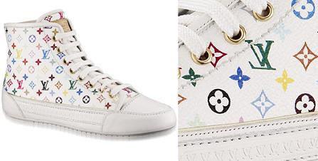 Louis Vuitton al estilo Converse